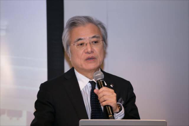 ユビキタス情報社会基盤研究センター長の坂村健氏